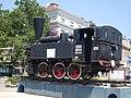 Maribor train station-steam locomotive JZ 151-001.jpg