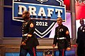 Marines at NFL Draft 2012 (6973657134).jpg