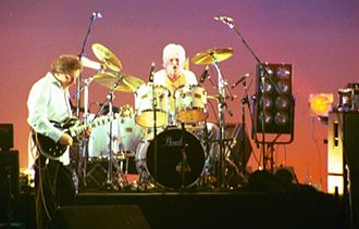 Sebastian Hardie - Mario Millo (guitar) and Alex Plavsic (drums) performing with Sebastian Hardie in 2003