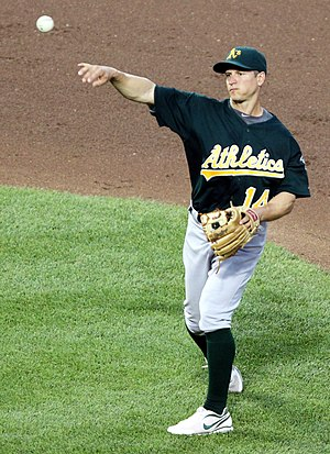 Mark Ellis (baseball) - Ellis playing for the Oakland Athletics in 2011