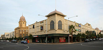Geelong city centre - Corner of Moorabool and Malop Streets, Geelong