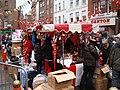 Market stalls on Newport Place - geograph.org.uk - 1721609.jpg