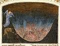 Marmion, Simon — Les Visions du chevalier Tondal, Ms. 30 (87.MN.141.14), fol. 27 — The Forge of Vulcan — 1475 (no text).jpg