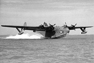 Martin XPB2M-1R Mars taking off c1944.jpeg