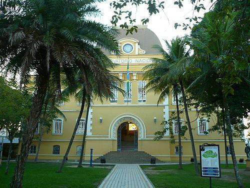 14985a056 Fachada do antigo prédio do Observatório Nacional, agora Museu de  Astronomia e Ciências Afins,