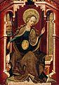 Master of Erfurt, The Virgin Weaving, Upper Rhine, ca 1400 (Berlin).jpg