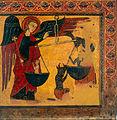 Master of Soriguerola - Saint Michael Weighing Souls - Google Art Project.jpg