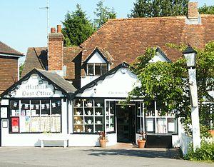 Matfield - Image: Matfield Post Office