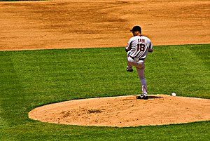 Matt Cain - Cain pitching in 2008