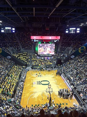 Matthew Knight Arena - Matthew Knight Arena, February 2011.