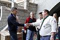 Mauricio Macri visito la Usina del Arte donde se recibieron donaciones (8636751689).jpg