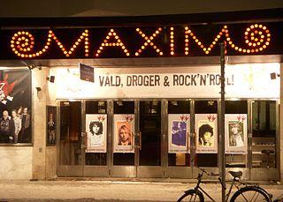 Maximteatern theatre and former cinema in Stockholm, Sweden