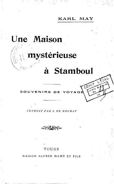 File:May - Une maison mystérieuse à Stamboul, 1915.djvu