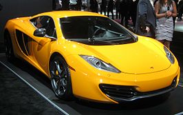 MP4-12C op de New York International Auto Show van 2012.