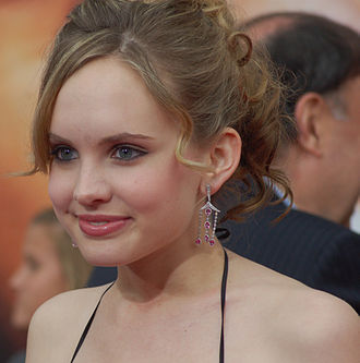 Meaghan Martin - Martin at the Hannah Montana: The Movie premiere in April 2009