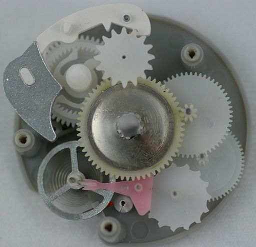 Mechanical egg timer internals