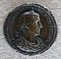 Medaglione di treboniano gallo, 252 dc, recto, bronzo e oricalco.JPG