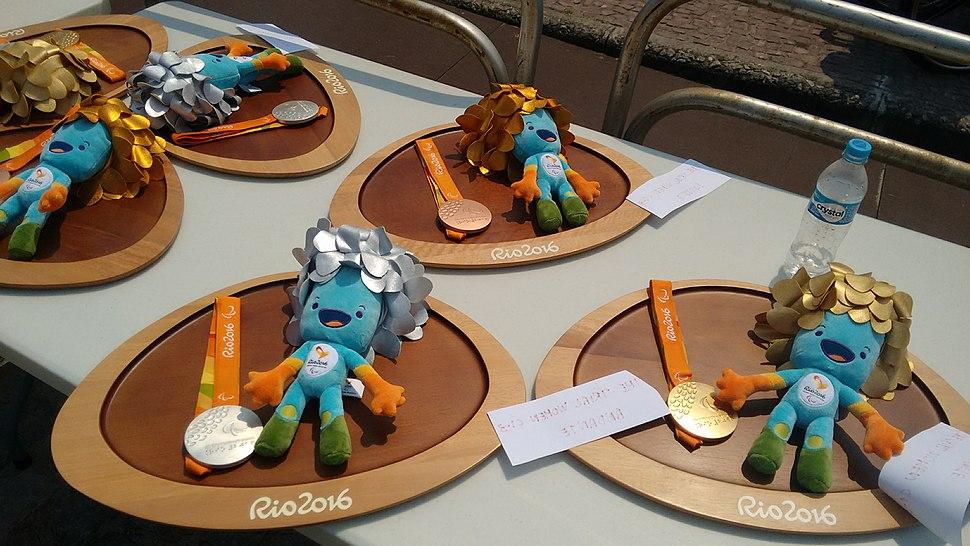 Medalhas paralimpicas
