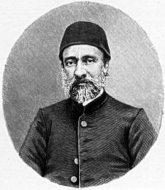 Tanzimat - Mehmed Emin Âli Pasha, the principal architect of the Islâhat Fermânı.