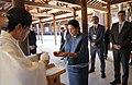 Meiji Shrine Ceremony with President Zourabichvili.jpg