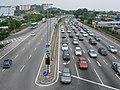 Melaka highway Lebuh AMJ east from Sentral - panoramio.jpg