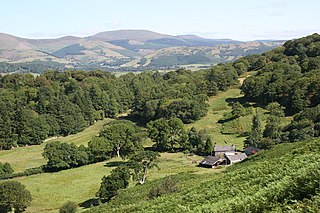 Ceredigion County in Wales