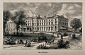Melrose Hospital, Melrose, Roxburgh, Scotland. Wood engravin Wellcome V0013954.jpg
