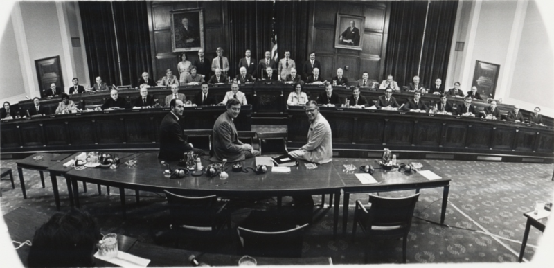 Members and staff of House Judiciary Committee 1974.png