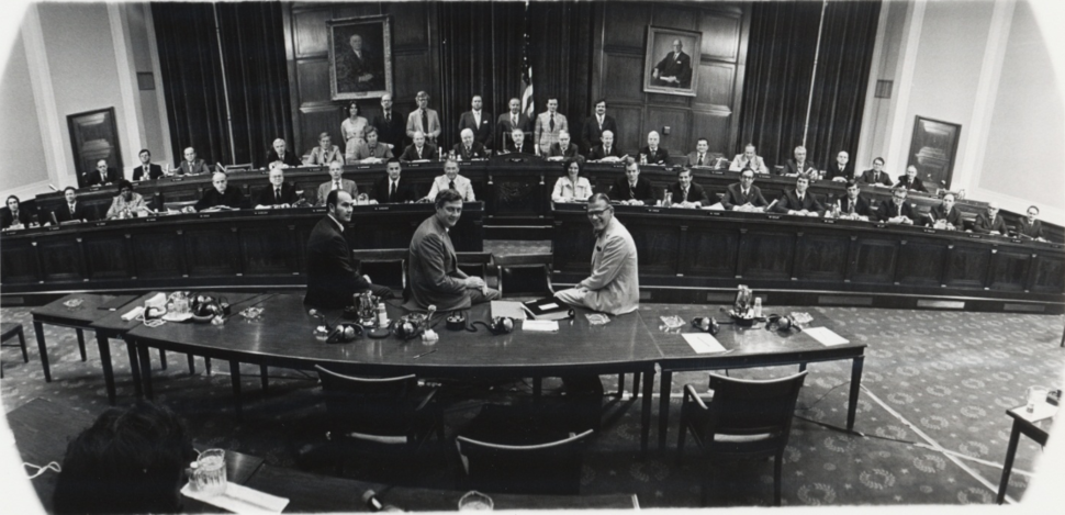 Members and staff of House Judiciary Committee 1974