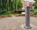 Memorial to 'The Belgian Village on the Thames', St Margarets, London.jpg