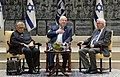 Memory in the Living Room - meeting for Yom HaShoah, Reuven and Nechama Rivlin with Noah Stern (1177).jpg