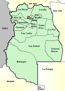 Jeu-O-Graphie III : La Coupe du Monde - Page 39 250px-Mendoza_province_%28Argentina%29%2C_departments_and_its_capital%2C_with_names