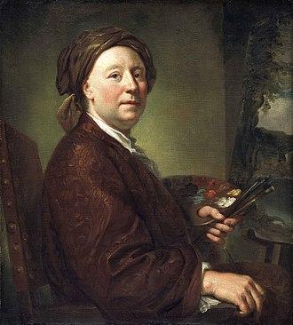 Richard Wilson (painter) - Image: Mengs Richard Wilson