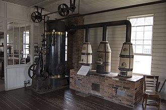 Crucible - Three crucibles used by Thomas Edison