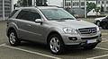 Mercedes-Benz ML 320 CDI 4MATIC (W 164) – Frontansicht (1), 27. April 2011, Velbert.jpg