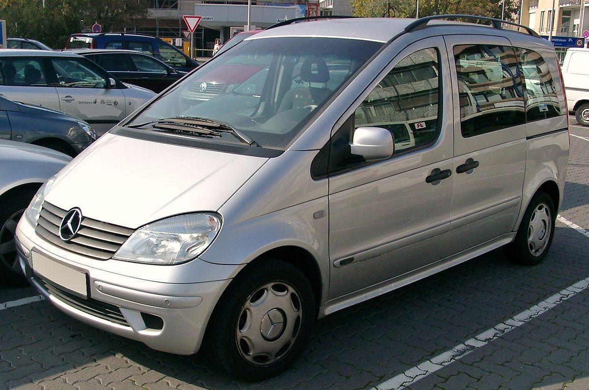 Mercedes Benz Vaneo Wikipedia