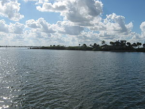 Merritt Island, Florida - South end of Merritt Island