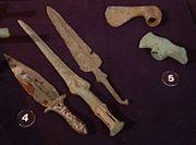 Bronsvapen från Mesopotamien..