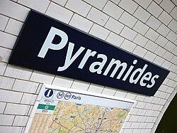 Pyramides (Métro Paris)