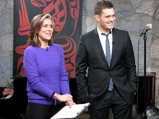 Michael Buble Steckbrief | Michael Buble and Meredith Vieira