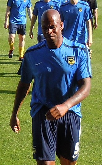 Michael Duberry - Duberry training with Oxford United in 2010