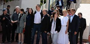 Age of Uprising: The Legend of Michael Kohlhaas - Cast and crew at the 2013 Cannes Film Festival.