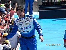 Michael Waltrip at the Daytona 500.JPG