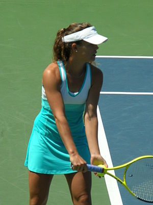 Michelle Larcher de Brito - Larcher de Brito at the 2010 Bank of the West Classic