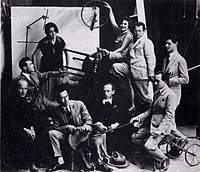 Migdal David's artists c. 1925.jpg