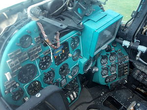 Mil Mi-24P Hind pilot seat pic2.JPG