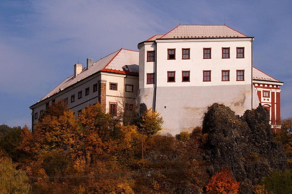 Goticko-renesanční palác