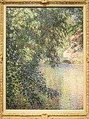 Mill at Limetz, Claude Monet, 1888 - Nelson-Atkins Museum of Art - DSC09011.JPG