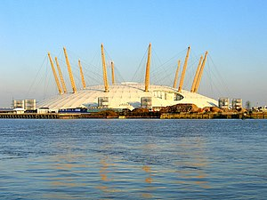 English: The Millennium Dome, London, UK
