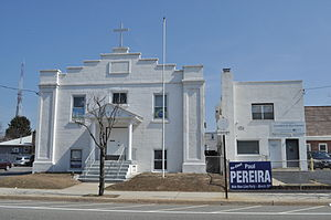 Mineola, New York - Korean and Portuguese churches, Mineola